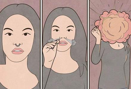 11张反应现实的插画,你能看懂几张!