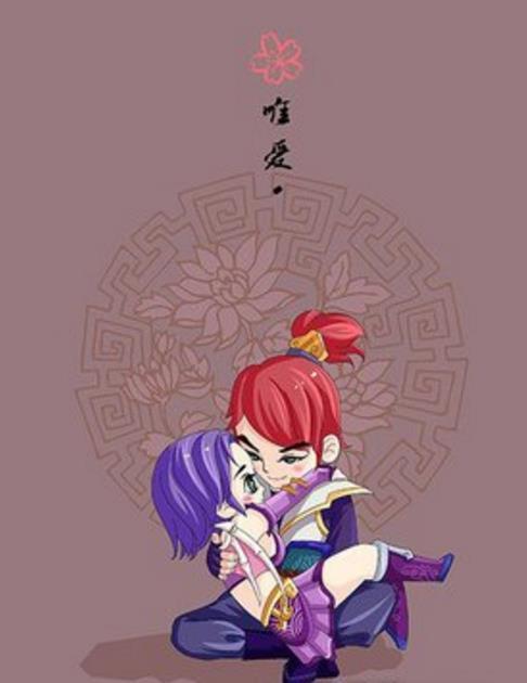 梦幻西游手游精美同人手绘 梦幻西游手游剑侠客与骨精灵的甜蜜爱恋