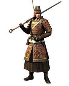 吴国短兵步兵