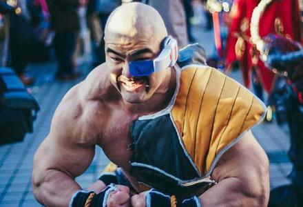 超级筋肉男又来了!C91现场神还原《七龙珠》大块头那巴