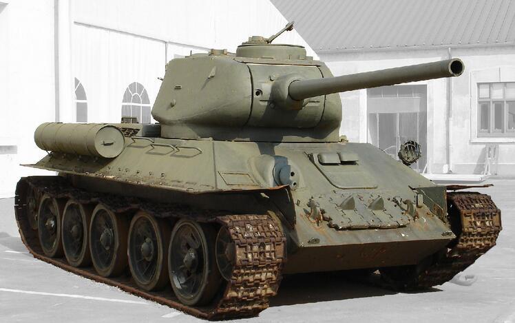 t-34主战坦克分析
