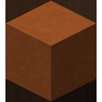 橙色染色粘土