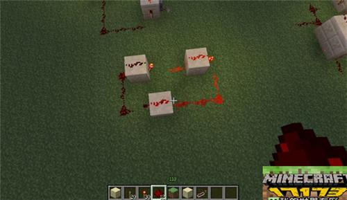 我的世界红石电路教程 基础模电