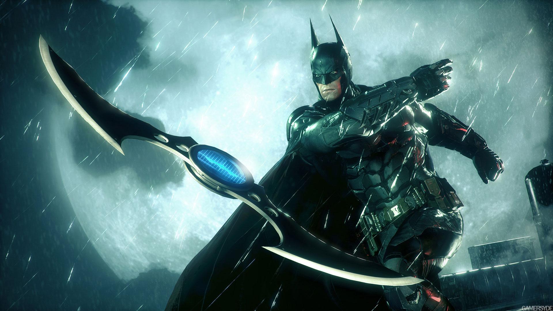 蝙蝠侠:阿甘骑士游戏图片电脑壁纸