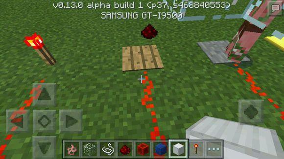 我的世界手机版0.13.0红石基础知识