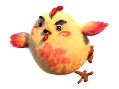 梦幻西游手游超级神鸡呆萌表情 梦幻西游手游超级神鸡表情包