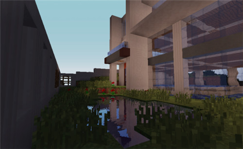 我的世界1.7.10海滨别墅建筑存档下载