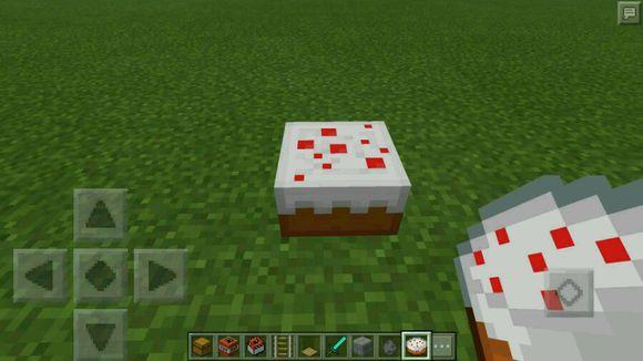 我的世界手机版蛋糕陷阱 红石陷阱制作教程