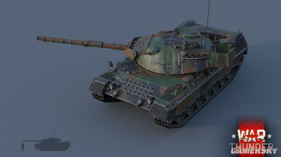 《战争雷霆》豹a1a1:现代闪电战先锋!