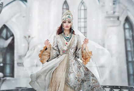 美得令人窒息 26张根据俄罗斯童话故事设计造型的摄影作品!