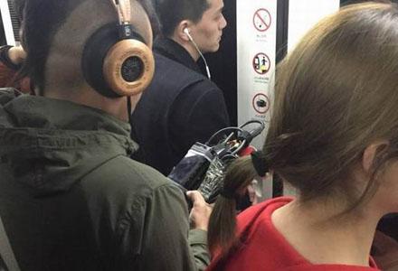 爆笑囧图:头一次看见耳机发烧友这么专业的