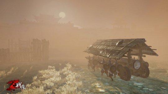 图二:眼前一片黄沙,《战意》新篇章有待探索.jpg