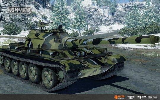 图4:我国的59式坦克就是吸收了T-54坦克的经验研发而出.jpg