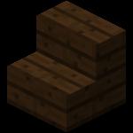 深色橡木楼梯