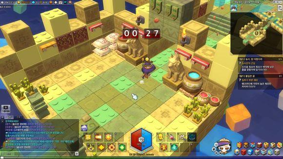 冒险岛2小游戏发光帽子玩法