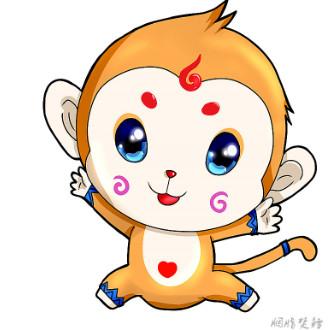 梦幻西游手游萌萌哒手绘神兽猴子