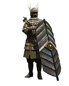 蜀国短兵步兵