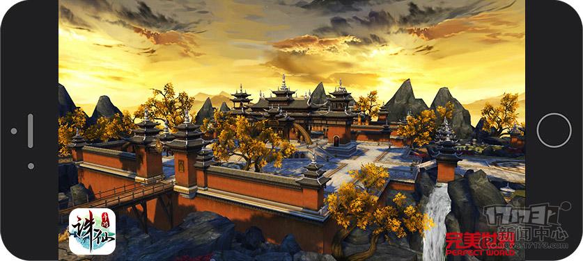 图3:《诛仙手游》庄严肃穆的天音寺.jpg
