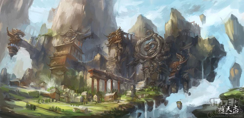 游戏场景古代布料花纹