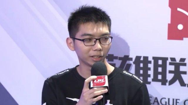 Xiaoyu采访:单带战术不是特别的准备