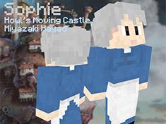 我的世界宫崎骏动画皮肤:哈尔的移动城堡之Sophie