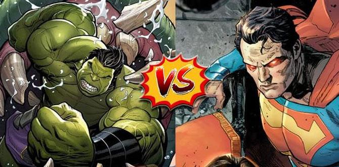漫威 vs DC旗下相似角色谁强谁弱?