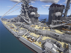 海上巨兽 我的世界PC存档下载之战舰兴登堡