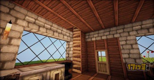 告别火柴盒!我的世界建筑教学第一期:欧式小屋