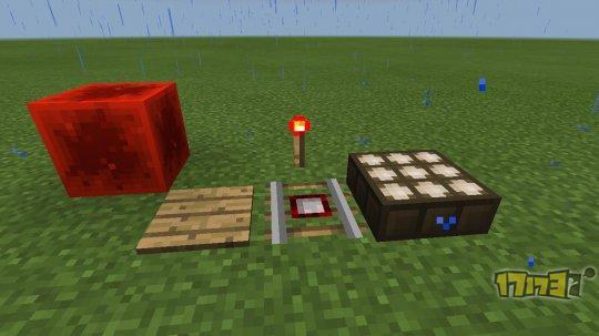 我的世界红石课堂1:红石元件   首先先来了解一下红石电路中可见的