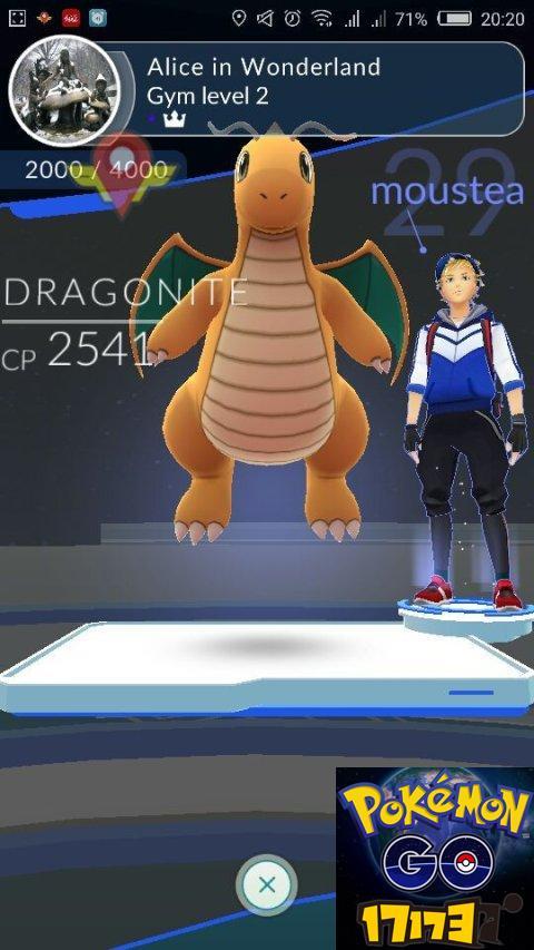Pokemon GO精灵宝可梦GO打快龙道馆用什么宠物