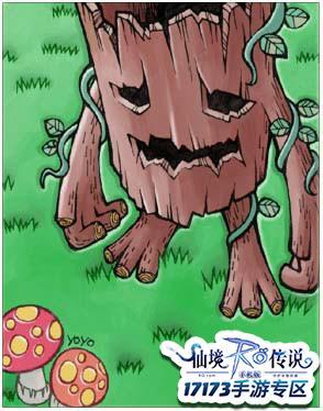 17173-仙境传说手游专区 news.17173.com/z/ro  仙境传说RO手游卡片图鉴之树精属性 树精卡片掉落途径