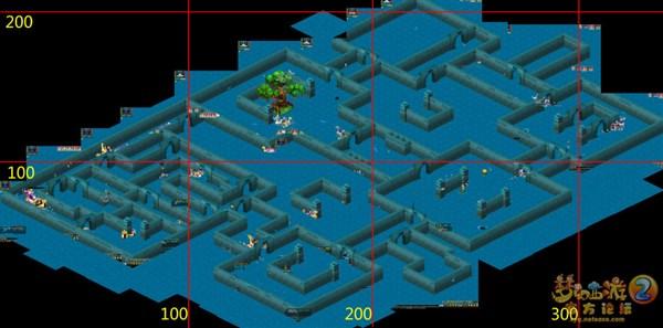 梦幻西游帮派迷宫第三层地图 路径坐标