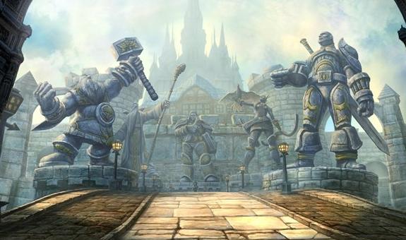 原创文章:魔兽世界八卦 - 暴风城和洛丹伦