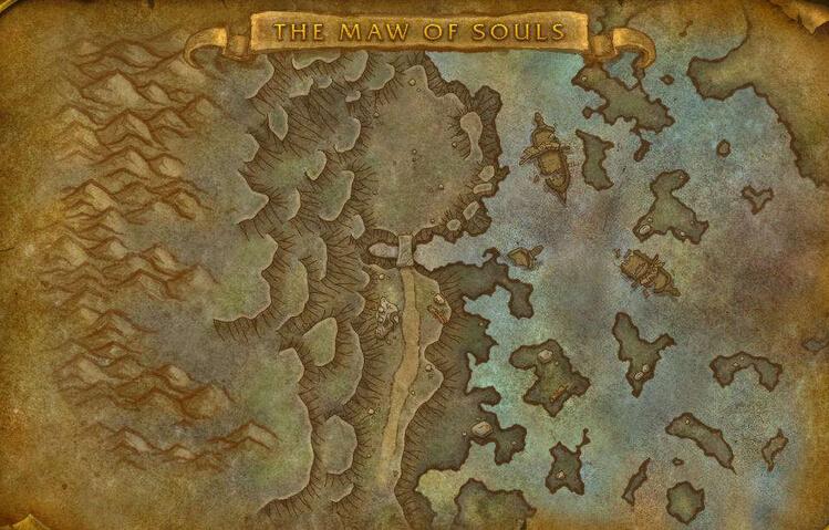 测试服更新:破碎群岛七大区域地图预览