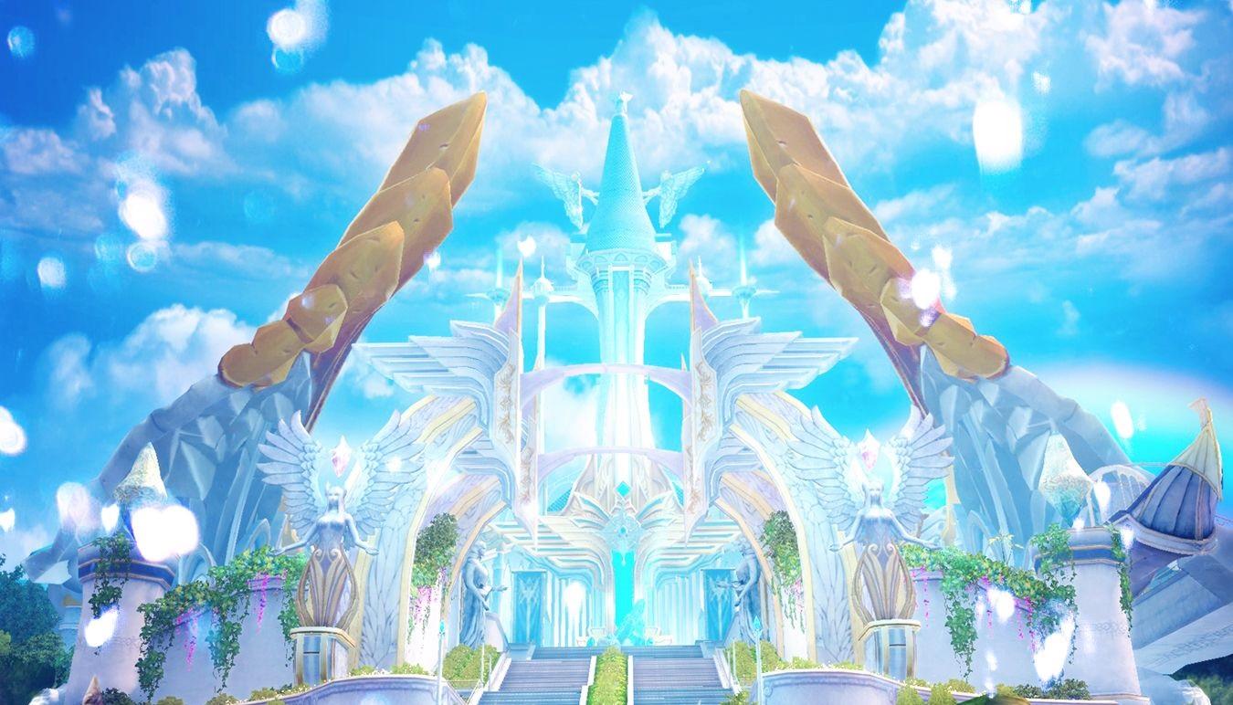 0地图风景展越来越近的永恒之塔