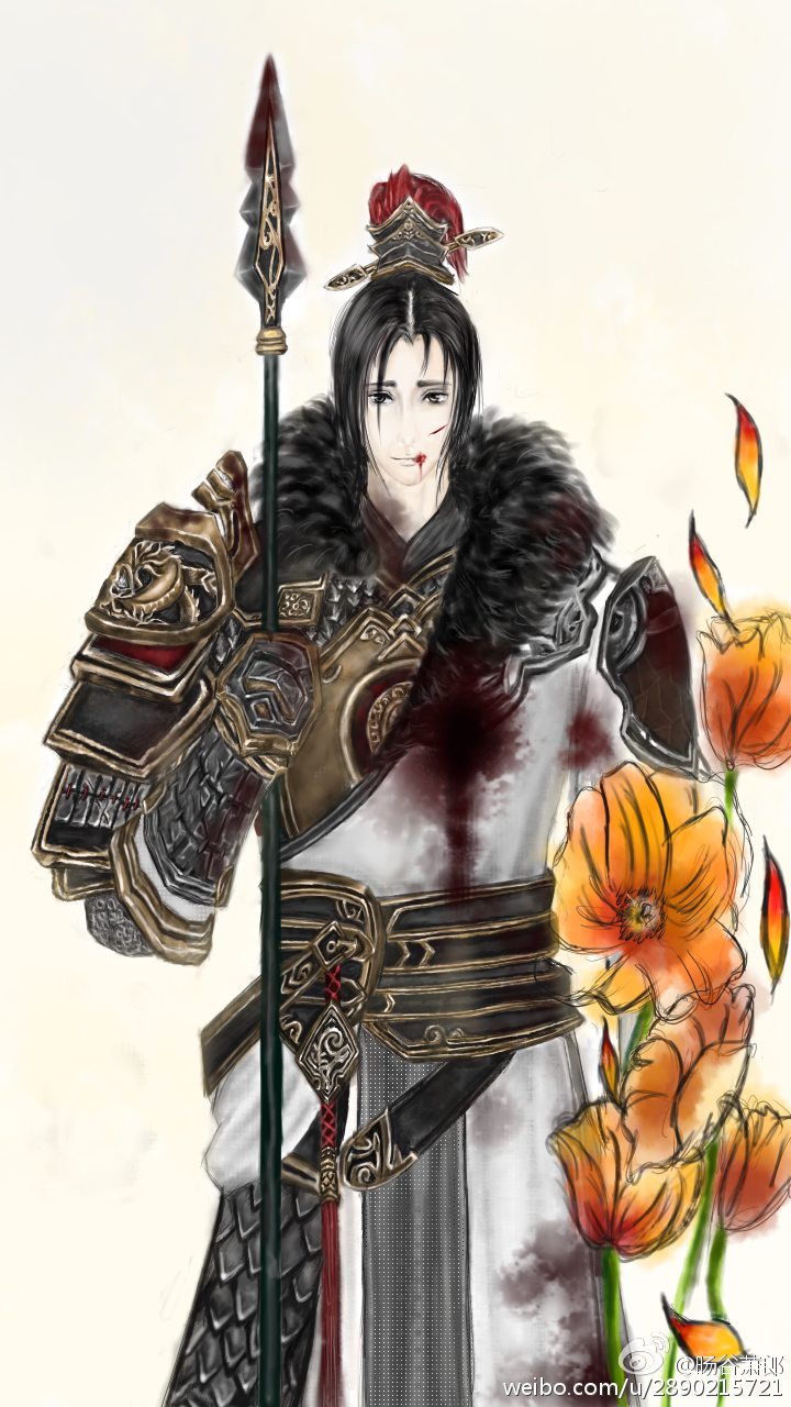 天刀神威手绘情侣图片