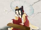 明月丹青 玩家分享仿古典工笔画双天香