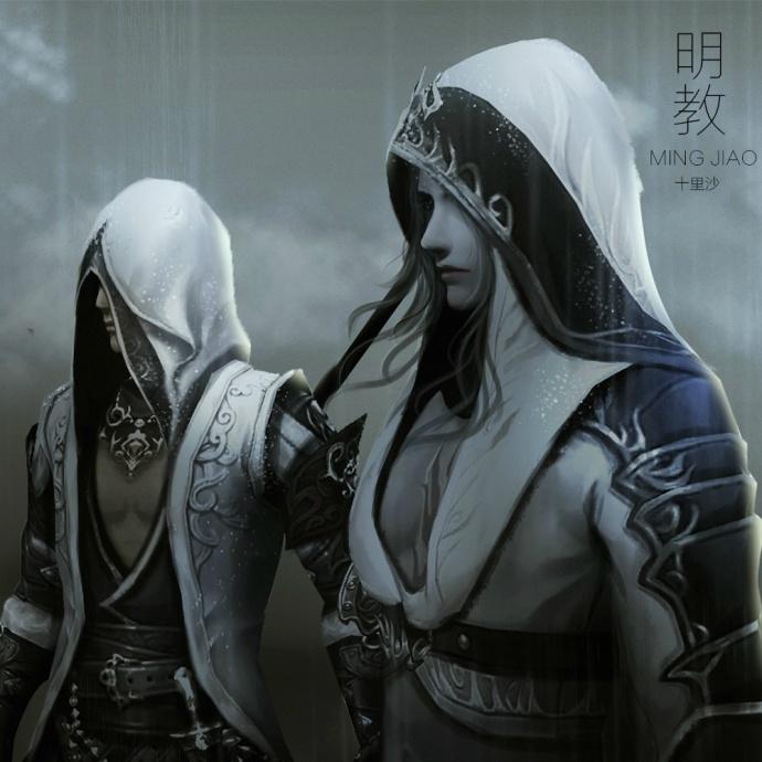 剑网3明教转手绘高清壁纸 还原刺客信条