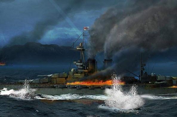 战舰世界隐身炮取消 战列舰心里上的胜利?