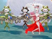 玩家秀图:星茸女子偶像团前来报道