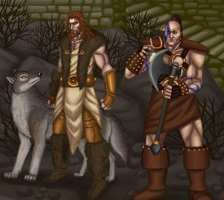 玩家手绘精美暗黑2作品 这些英雄历历在目
