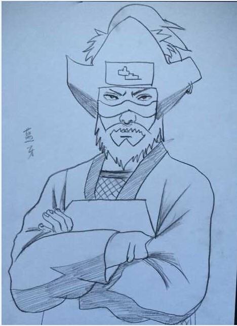 【手绘】火影忍者ol原创手绘—尾兽来袭