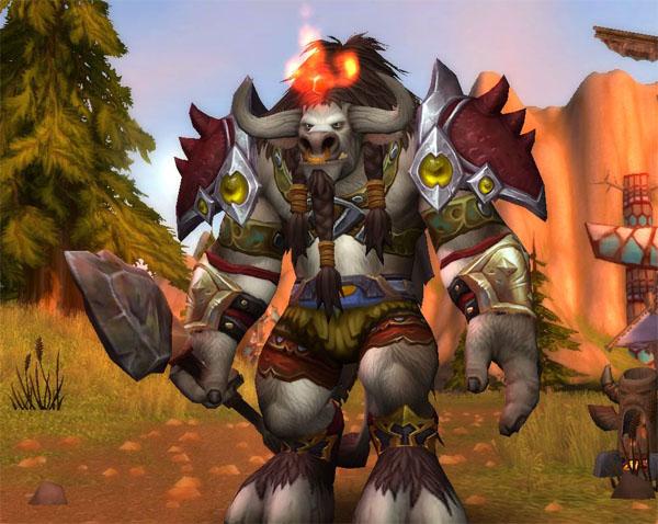 魔兽幻化推荐:牛头人战士原始风格幻化