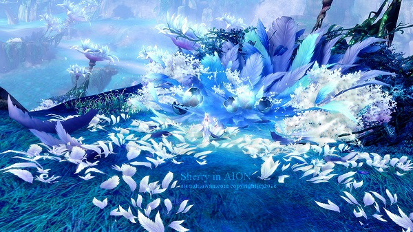 永恒风景展传说中的魔族仙境诺斯珀德--永恒之塔-aion