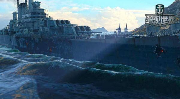 巡洋舰德梅鸡 战舰世界得梅因搞笑故事