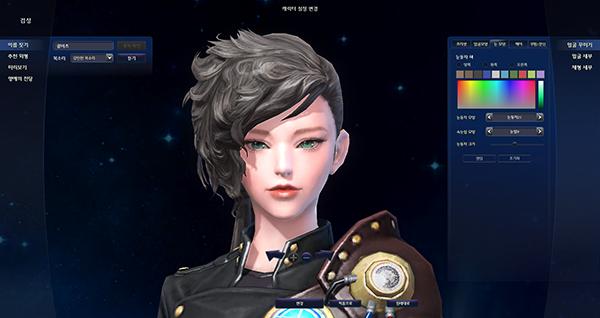 韩服优质捏脸数据分享帅气逼人女剑星--永恒之塔