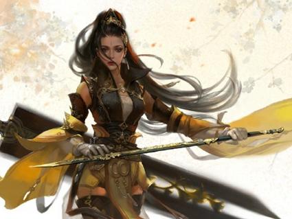 剑网3大气欧美厚涂画风集合 色彩惊艳