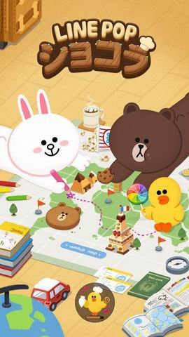 LINE POP:甜点地图截图第1张