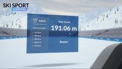 滑雪运动:跳跃截图