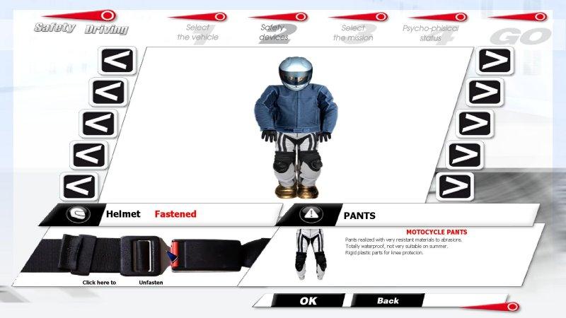 安全驾驶模拟器:摩托车截图第3张